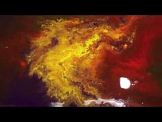 Abstract Art Painting - Special Acrylic Pouring Techniques on Canvas by Brigitte König - YouTube