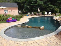 Freeform Gunite Pool in Warwick, RI