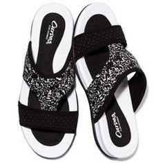 Curves® for Women Sporty Slide Sandal louisesmalley.avonrepresentative.com