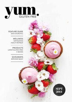yum. gluten free magazine september 2014