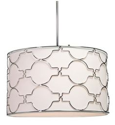 Artcraft Morocco 23-Inch-W Chrome Circular Pendant Light - #EUT2017 - Euro Style Lighting
