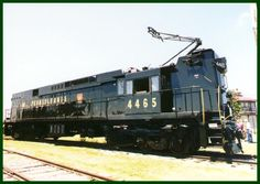 PRR E44 Electric Locomotive at Pennsylvania Railroad Museum, Strasburg Pennsylvania (1998).