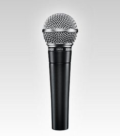 The Shure SM58 is a well known industry standard microphone and we use several of these on stage.