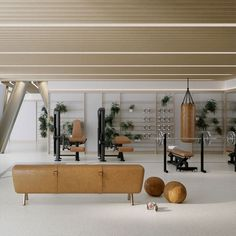 Gym | One Crown Place | by Studio Ashby