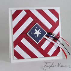 handmade patriotic card … Independence Day Quilt … luv the bold graphic qual… handmade patriotic card … Independence Day Quilt … luv the bold graphic quality of this square card … Patriotic Quilts, Patriotic Crafts, Patriotic Party, July Crafts, American Card, American Flag, Military Cards, Star Cards, Square Card