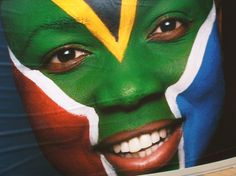 Face with South African Flag