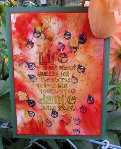 http://wolkentraum.wordpress.com using Designs by Ryn: Raindrop Set