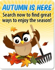 PCH Search & Win shared  this today and how appropriate because it's the first day of AUTUMN 2014 (Smiles) Enjoy the cool breeze !