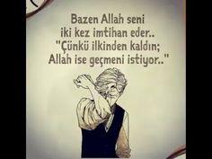 Bazen Allah seni iki kez imtihan eder... - YouTube My Eyes, Allah, Supergirl, Youtube, Youtubers, Youtube Movies