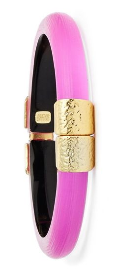 Pink and gold always make for fabulous arm candy. @nordstrom