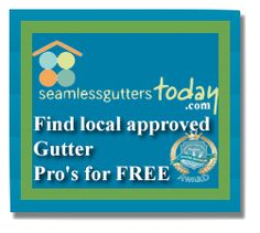 Seamless Gutters - Need a Local Seamless Gutter Pro?