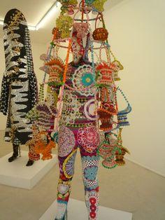 by Nick Cave (not the singer !) // exposition à la Galerie Suzanne Tarasieve, Paris // photo : Léa Stansal