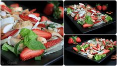 Chicken Strawberry Fennel Salad