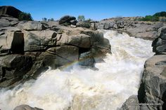 Orange River, Augrabies Falls National Park, South Africa