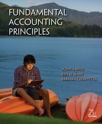 Test bank Solutions for Fundamental Accounting Principles 21st Edition by John J. Wild ISBN 0078025583 INSTRUCTOR TEST BANK SOLUTIONS VERSION  http://solutionmanualonline.com/product/test-bank-solutions-fundamental-accounting-principles-21st-edition-john-j-wild-isbn-0078025583-instructor-test-bank-solutions-version/