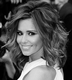 Cheryl Cole- medium length hair volume