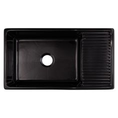 Wickes Asterite 1.5 Bowl Reversible Kitchen Sink Black | Wickes.co ...