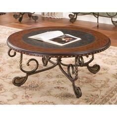 Hokku Designs Nile Square Motion Storage Coffee Table
