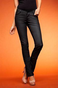 Emerge Coated Denim Jeans