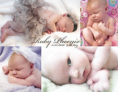 Birth Announcement Magnet. Photos by me, created a collage in Google Picasa, then used Vista Print to upload and order the magnets. Ended up being less than 75 cents per magnet.