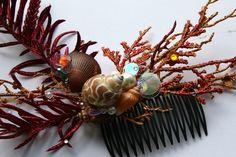 sea things hair comb