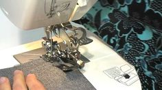 How to use a RUFFLER with Toyota Sewing Machine