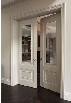 Check out this vital graphics in order to look at the here and now information and facts on french doors bedroom House Design, Indoor Doors, Windows And Doors, House Interior, French Doors, Home, Interior, Double Doors Interior, Glass Doors Interior
