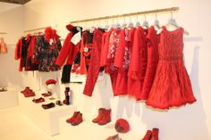 The red theme from the Quis Quis fall winter 2014 collection at the 78th edition of the Pitti Bimbo in Florence. #QuisQuisKids #FW14 #fall #winter #fallwinter2014 #childrens #kids #childrenswear #kidswear #kidsfashion #girls #boys #pittibimbo78 #pittibimbo