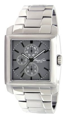 Kenneth Cole Bracelet Collection Charcoal Grey Dial Men's Watch #KC9066 Kenneth Cole. $67.55. 30 Meters / 100 Feet / 3 ATM Water Resistant. Quartz Movement. 38mm Case Diameter. Mineral Crystal. Dress Sport Collection