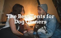 As I now have dogs, and it would be lovely to take them with me when I go camping. But what are the issues? Dogs have a habit of chewing and clawing at things, which would be a disaster in a tent. And then, of course, dogs tend to bark a little, which would upset my camping neighbors. We can't recommend cures for barking dogs, but we can look at the best tents for dog owners. Cool Tents, Go Camping, Dog Owners, The Cure, Good Things, Dogs, Pet Dogs, Doggies