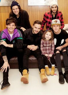 Dec 9, 2014 at the Rays of Sunshine event. The boys with Effy