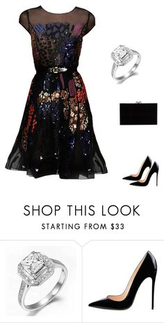 """Без названия #1811"" by newyorkstylrer ❤ liked on Polyvore featuring Oscar de la Renta and Charlotte Olympia"