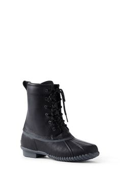 Try our Women s Lined Duck Boots at Lands  End. Everything we sell is  Guaranteed. 2e8e59eed3ea