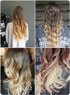 brown and blonde ombre hair color summer 2013