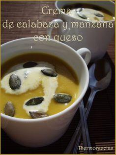 crema de calabaza y manzana con queso_Mayra Fdez Joglar.