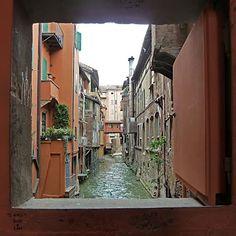 Bologna, Segreto di Via Piella, province of Bologna , Emilia Romagna region Italy