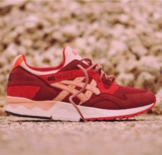 """Ronnie Fieg x ASICS Gel Lyte 5 """"Volcano."""" Need these in my life"""