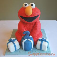 Willa loves Elmo right now- this could work for birthday #2!