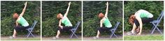 #chairyoga twists and folds with Gail Pickens-Barger, Chair Yoga Fitness Instructor