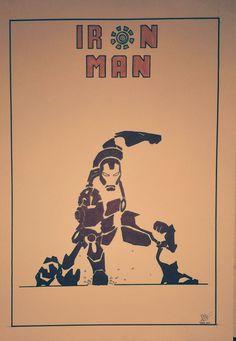 iron man , by  Antonio Cornejo Niederle.