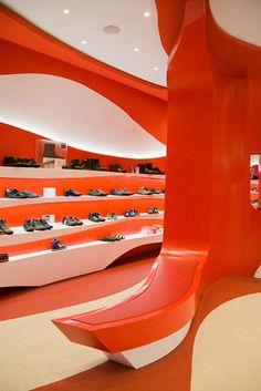 Camper Store. Granada. A-cero Architects. Photography Fernando Carrasco.