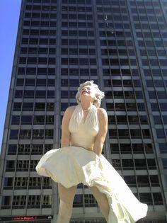 Marilyn. Larger than life.