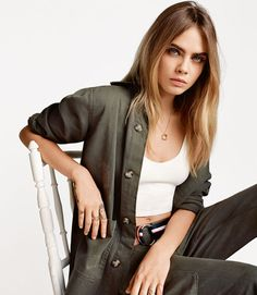 Cara Delevingne for Topshop SS15 @CaraDeleWorld Crys Fury