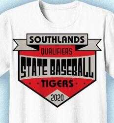 Baseball T-Shirt Designs: Click 52 NEW Team Designs. Order Now - State Baseball Shirt Design Baseball Shirt Designs, Baseball Shirts, Team T Shirts, Tops, Women, Fashion, Moda, Fashion Styles, Fashion Illustrations