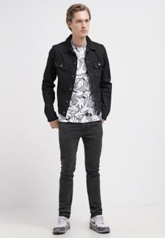 Eleven Paris - CAND - T-shirt z nadrukiem - gris