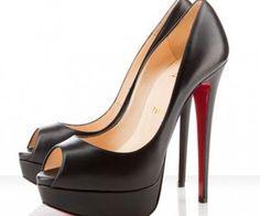louis vuitton black platform heels - Google Search