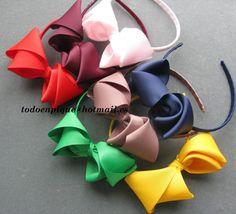 ribbon diademas for girls