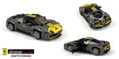 Ferrari 296 GTB Assetto Fiorano (2022) New Ferrari, Power Unit, New Engine, Engine Types, Electric Motor, High Level, Sport Cars, Lego Vehicles, The Unit