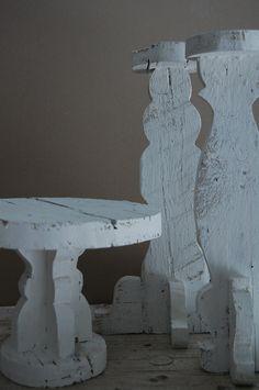 complementi realizzati con legno di recupero
