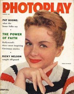 PHOTOPLAY January 1958 movie magazine DEBBIE REYNOLDS cover (e385)